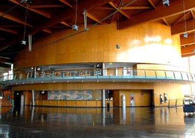 ©unemadera Hall del Centro de Congresos de Estoril