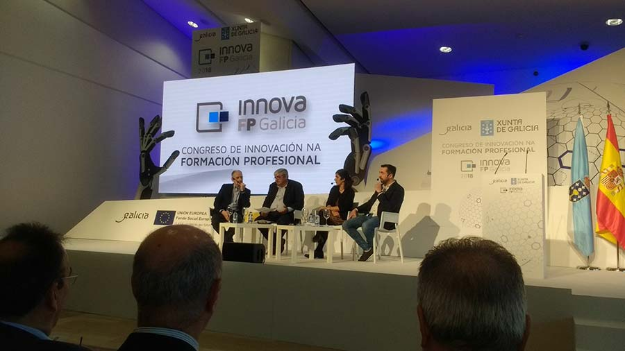 El Congreso de innovación para la formación profesional en Galicia